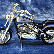 &quot;2000 Softail Deuce Harley Davidson Motorcycle&quot; Hallmark Ornament - 2005