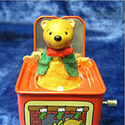 &quot;Pop!  Goes the Teddy Bear&quot; a Hallmark Jack-in-the-Box MAGIC Ornament - 2006