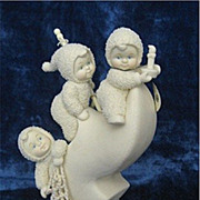 """The Fisherman Three"" (Winken, Blinken & Nod) - Dept 56 Snowbabies Collector's Editi"