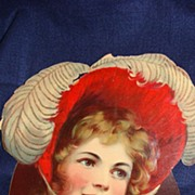 SALE Die Cut from the early 1900's (may be Coca Cola)