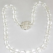 The Most Gorgeous Glass Crystals Necklace Fabulous