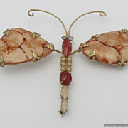 SALE Schreiner New York Huge Dragonfly Brooch