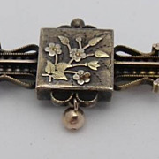 Victorian Aesthetic Period Watch Pendant Brooch