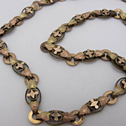 Victorian Bookchain 19&quot; Necklace Beautiful Design