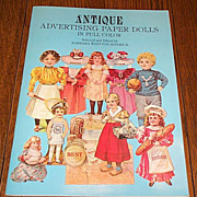 1981 Charming Advertising Paper Doll Book