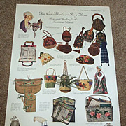 1919 Beaded Bags & Baskets For The Fastidious Woman