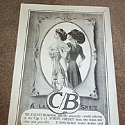 Early C/B A' La Sprite Corset Advertisement