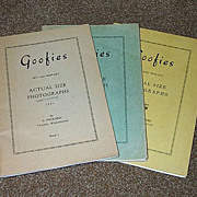 1951-1953-1956-57 Three Goofies Button Reference Books
