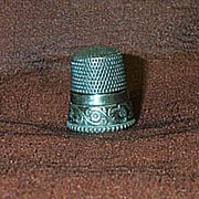 SALE Vintage Sterling Sewing Thimble