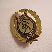 New Orleans Mardi Gras Rex Badge - 1983