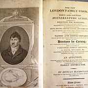 Rare 1811 Cookbook - The London Family Cook or Town and Country Housekeeper's Guide