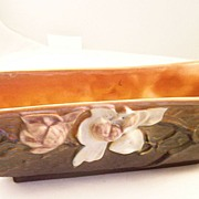 Roseville Art Pottery Magnolia Window Box Planter - 1940's