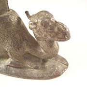 Unusual Figural Camel Pen Holder - early 20th century