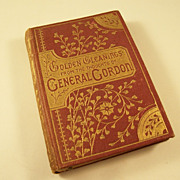 Miniature Book - Golden Gleanings from the Thoughts of General Gordon - 1885