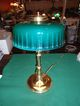 Rare Form Emeralite Table Lamp