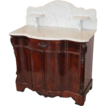SALE 1860's Rococo Rosewood Full Commode/Washstand