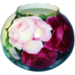 Gorgeous AK Limoges Hand Painted Rose Bowl
