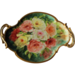 Beautiful HAND PAINTED Masterpiece~ LARGE French Limoges Stunning Still Life  Painting on Porcelain Tray ~ Magnificent Piece of Fine Art ~ Collector Piece ~