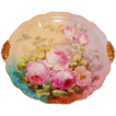 "Truly Magnificent Antique Limoges France LARGE Charger Tray ~ Breathtaking Hand Painted Roses ~ Museum Quality ~ Masterpiece Painting ~ Signed by the Artist ""LeFort"" ~ Superb Artistry Jean Pouyat JPL Circa 1890 � 1932."