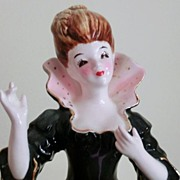 "Elegant Full Figure Lady Head Vase Planter ""Lady Juliet"""