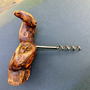 Neat Old Gnarled Wood Cork Screw