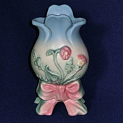 Hull Bow Knot Vase Gorgeous!