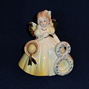 SOLD Vintage Josef Originals Birthday Angel 8 years