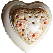 Cybis Porcelain &quot;Thinking of You Heart Box&quot;