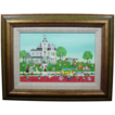 Jo Sickbert - Signed Original Oil &quot;Spring Water Ice Company&quot;