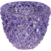 REDUCED Exquisite Multi-Faceted Paperweight, Unusual Shape, With Star Cut Base