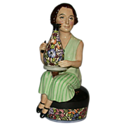 "REDUCED Closed Limited Edition - Kevin Francis ""Charlotte Rhead"" modeled by sculptor"