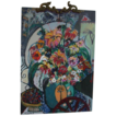 "REDUCED Original Oil by Listed Artist, Bracha Guy,  One of Israel's Most Popular Contemporary Artists, - ""Bouquet II"" , Signed"