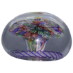 Antique Baccarat Millefiori Mushroom Paperweight - c 1850