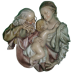 Borsato - &quot;Sacred Family&quot; Large Wall Plaque - Simply Wonderful!