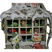 "REDUCED Connoisseur Bisque Porcelain - ""Toy Shop"" - c. 1991"