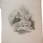 "Fabulous Antique Print - ""London Published by R. Bowyer Historic Gallery, Pall Mall, Apri"