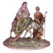Borsato - &quot;Flight Into Egypt&quot; - Wonderful Multi-Figural Sculpture