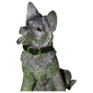 German Shepherd Puppy (Alsatian) - English Silver - From Renowned British Silversmiths COMYNS!
