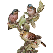 "REDUCED BORSATO - ""Out On A Limb"" - Multi Figural Porcelain Sculpture by the Master!"