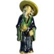 Chinese Mudman Standing Sage With Hat And Peach (Symbol of Long Life), Circa 1930