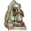 "Borsato - ""Shelter"" - Touching  Multi-Figural Porcelain Sculpture From The Master"
