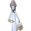 Doctor Porcelain Figure From Italy, Signed, With Original Tag