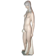 REDUCED Lladro Nude, Bisque, Retired Edition - Sculptor Juan Huerta