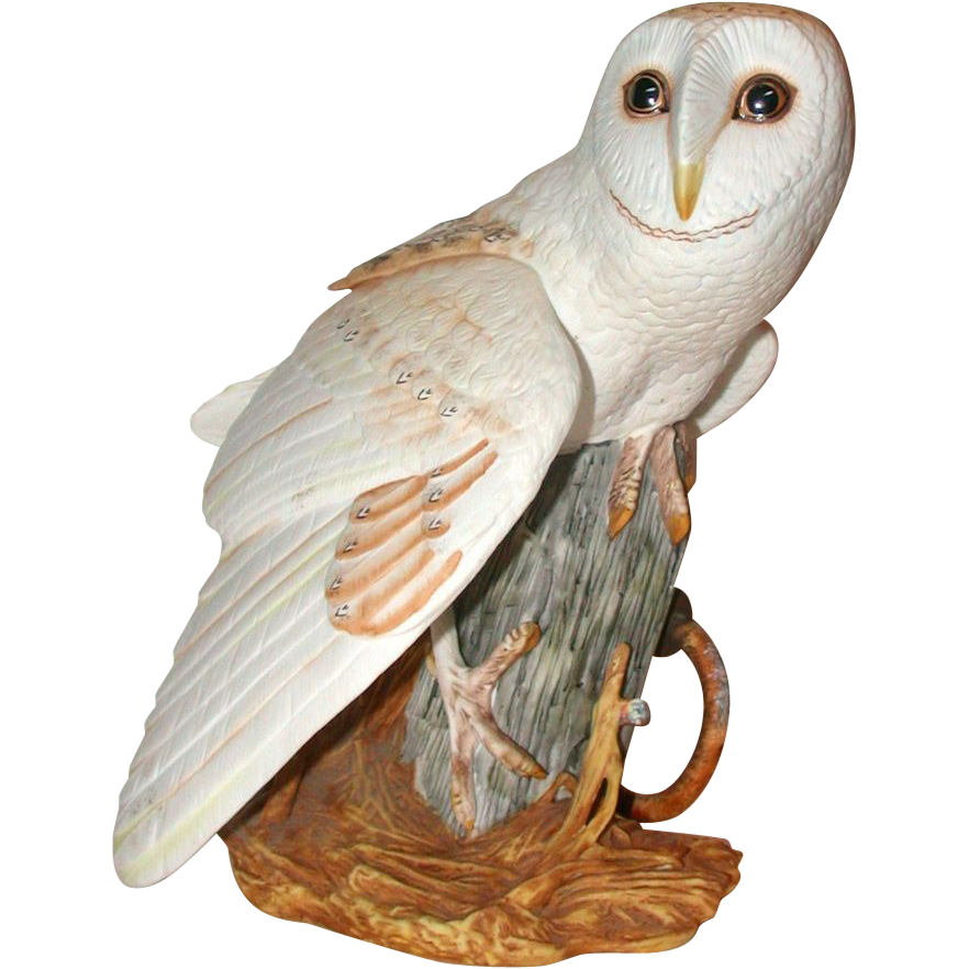 Franklin Mint Quot The Barn Owl Quot By George Mcmonigle Fine