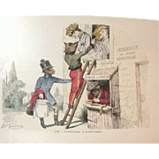 Grandville (Jean Ignace Isidore Grard) (1803 - 1847) - Les Mtamorphoses du jour (182829) ..