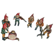 Antique Vienna Bronze Gnome Orchestra - Absolutely Delightful
