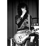 Led Zeppelin - Jimmy Page - Very Limited Edition - Signed, Dated and Numbered by Photographer,
