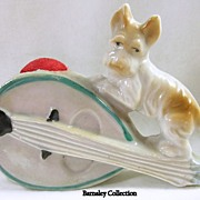 SALE Vintage Terrier Mandolin Pin Cushion