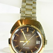 POLJOT Men's Stainless Steel Watch Made in USSR