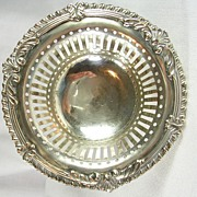Silver Plated Victorian Bonbon Dish � Beautiful!